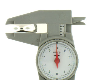 dial caliper illustration